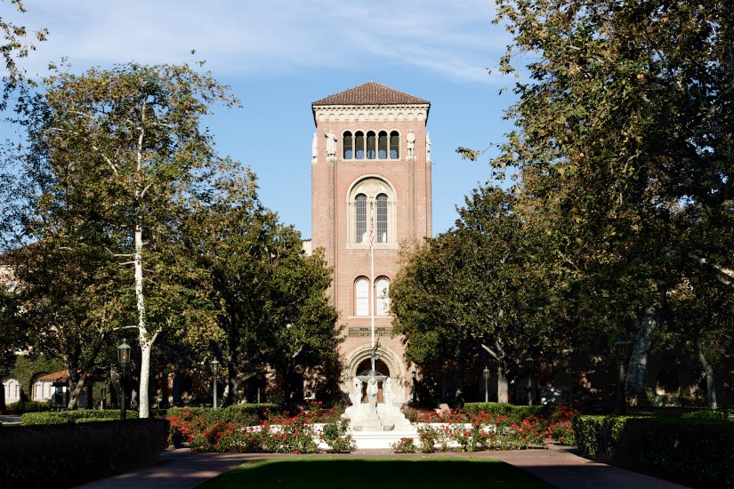Bovard Administration and Alumni Park